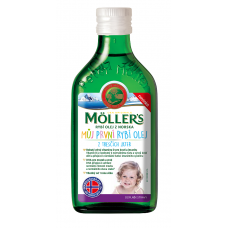 Möller's Omega 3 Môj prvý rybí olej 250ml