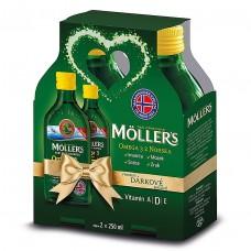 Möller's Omega 3 Citrón 2x 250ml Darčekové balenie